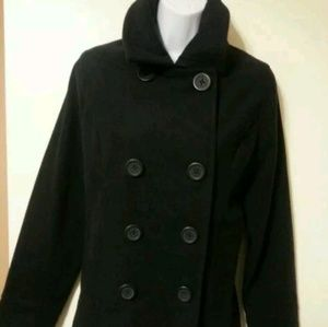 Heritage1981 American Brand Black Wool Winter Coat